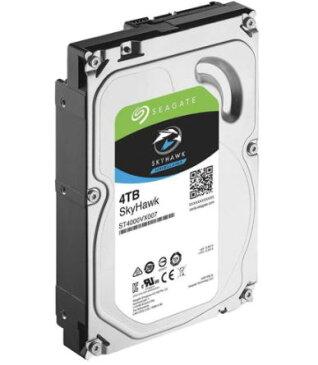 Seagate シーゲイト ST4000VX007 内蔵ハードディスク SkyHawk 3.5 インチ HDD 4TB SATA 6Gb 5900rpm 64MB 3年保証付