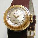 ROLEX カメレオン 18金ゴールドオリジナル尾錠 替えベルト付 1950年代 ヴィンテージ 整備済