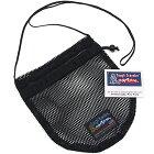 【送料無料】ToughTravelerPURSEBlackMeshタフトラベラーパースアメリカ製メッシュ巾着バッグ小物入れ男女兼用アウトドア送料区分:S