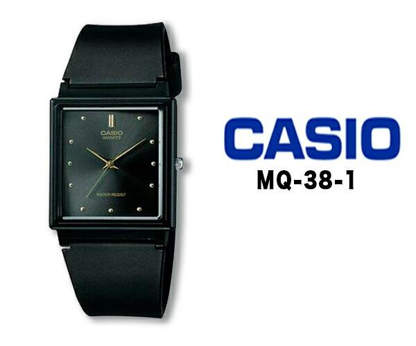 CASIO カシオ クオーツ 腕時計 メンズ レディース アナログ mq-38-1 おすすめ ファッション ウォッチ ブラック ラバー ベルト チプカシ チープカシオ