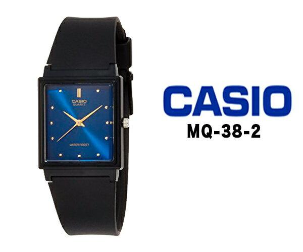 CASIO カシオ クオーツ 腕時計 メンズ レディース アナログ mq-38-2おすすめ ファッション ウォッチ ブラック ラバー ベルト チプカシ チープカシオ