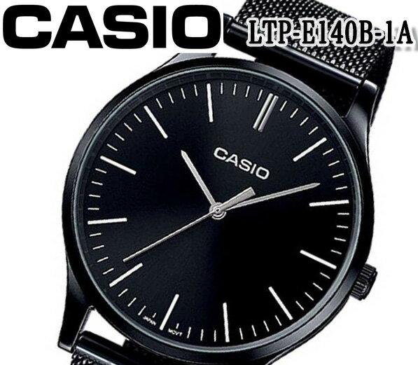 腕時計, メンズ腕時計 CASIO LTP-E140B-1A BOX