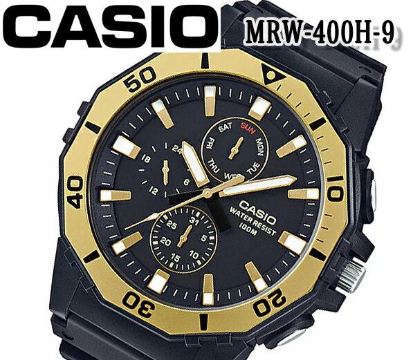 腕時計, 男女兼用腕時計 CASIO mrw-400h-9A BOX