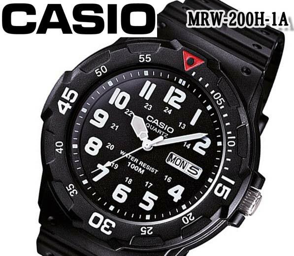 腕時計, 男女兼用腕時計 CASIO mrw-200hc-1B