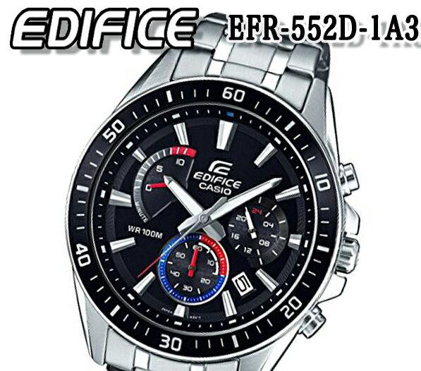 腕時計, メンズ腕時計  CASIO EDIFICE 100m efr-552d-1a3