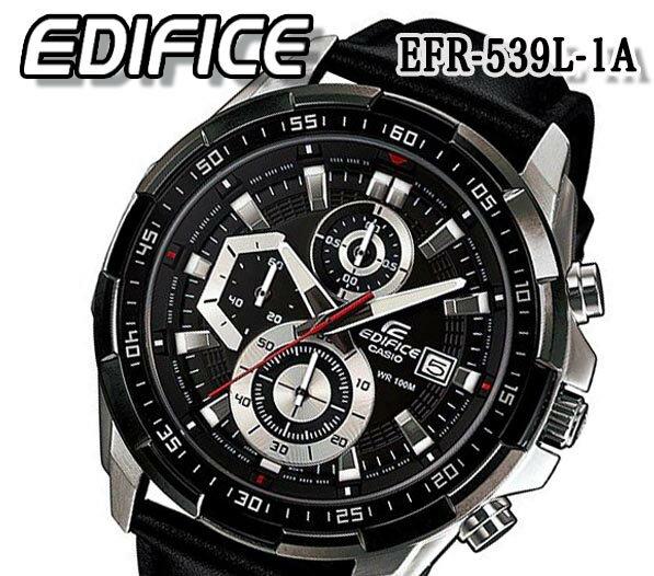 腕時計, メンズ腕時計  CASIO EDIFICE 100m EFR-539L-1A