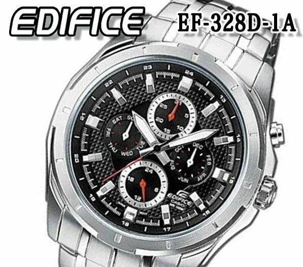 腕時計, メンズ腕時計  CASIO EDIFICE 100m ef-328d-1a