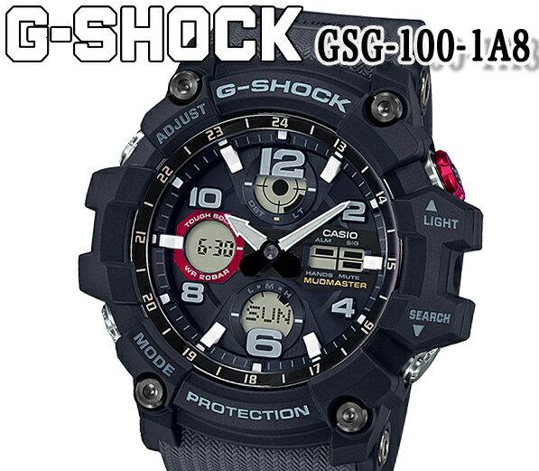 腕時計, メンズ腕時計  CASIO G-SHOCK gsg-100-1a8 G MUDMASTER