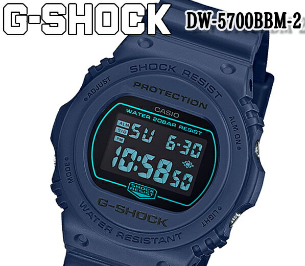 腕時計, メンズ腕時計  casio G-SHOCK G DW-5700BBM-2