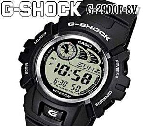 新品 最安 G-SHOCK G-2900F-8V ブラック カシオ CASIO メンズ 腕時計 レディース デジタル クォーツ Gショック ショックレジスト ラバー ストップウォッチ 人気 ブランド おすすめ アウトドア