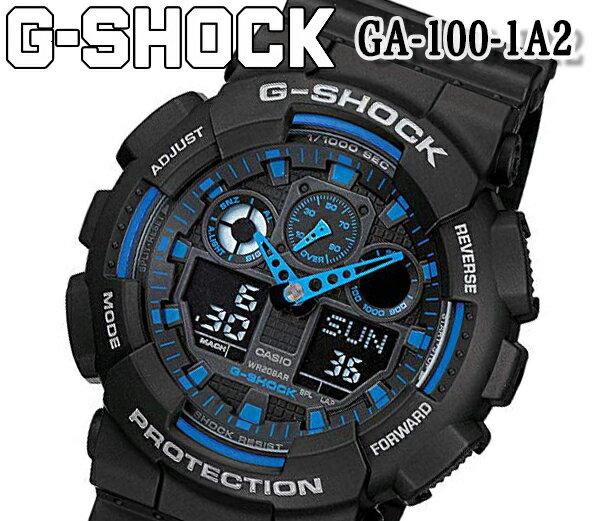 腕時計, メンズ腕時計 205 CASIOG-SHOCK G NEW GA-100-1A2
