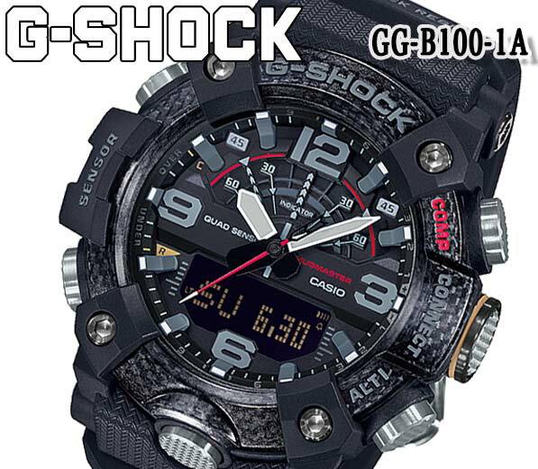 腕時計, メンズ腕時計  G-SHOCK G MUDMASTER GG-B100-1A CASIO