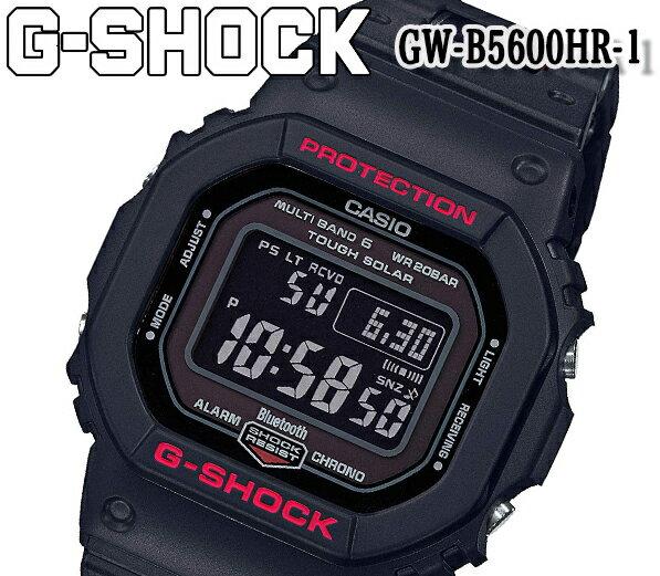 あす楽   新品カシオcasioG-SHOCKGショックGW-B5600HR-1マルチバンド6メンズ腕時計タフソーラー電波受信