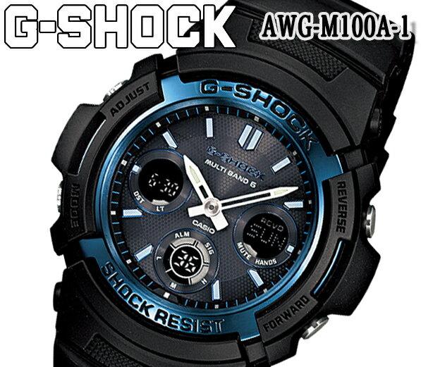 腕時計, メンズ腕時計  G-SHOCK awg-m100a-1 LED 20