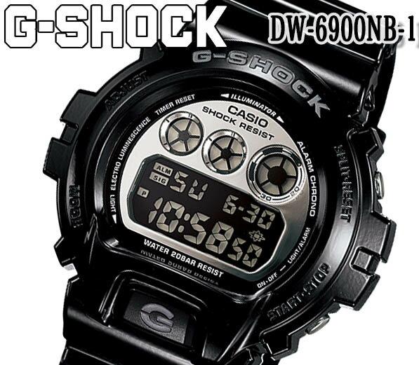 腕時計, 男女兼用腕時計 CASIO DW6900NB-1