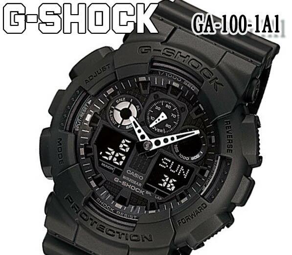 腕時計, メンズ腕時計  CASIOG-SHOCK G NEW GA-100-1A1