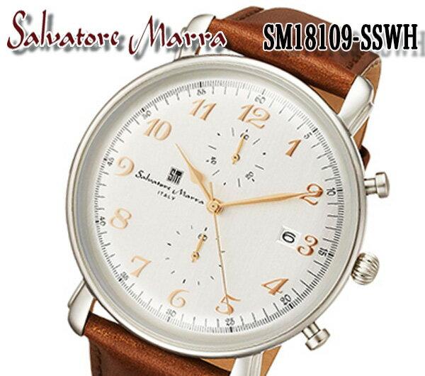腕時計, メンズ腕時計 salvatore marra SM18109-SSWH