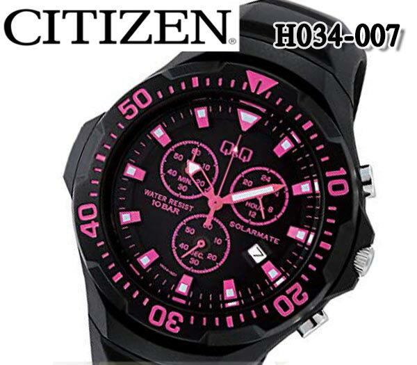 腕時計, 男女兼用腕時計  CITIZEN QQ H034-007