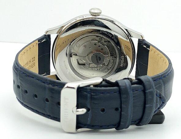 新品 オリエント ORIENT  オープンハート オートマチック RA-AG0015L00C レザー ベルト 自動巻 手巻き メンズ 腕時計 当店限定品 ビジネス ファッション おすすめ
