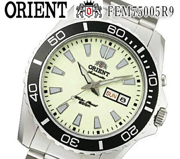 腕時計, メンズ腕時計  Orient Mako XL 200M FEM75005R9