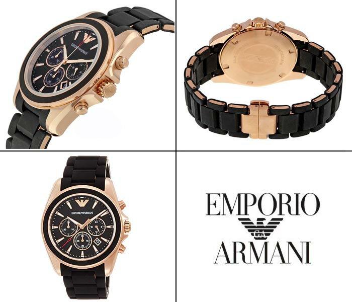EMPORIO ARMANI  エンポリオ アルマーニ メンズ腕時計  Chronograph ( クロノグラフ) メンズ 男性用  ブラック ウレタン・ラバー系  ar6066 オススメ ギフト