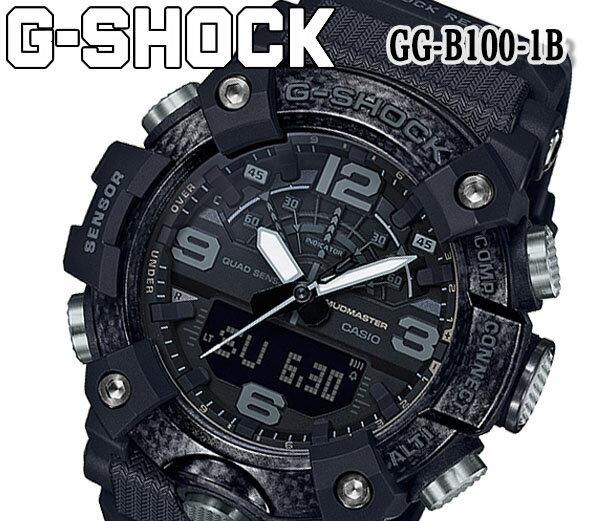 腕時計, メンズ腕時計  G-SHOCK G MUDMASTER GG-B100-1B CASIO