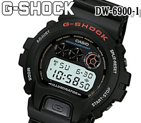 腕時計, メンズ腕時計  G-SHOCK DW-6900-1 CASIO G DW-6900-1V