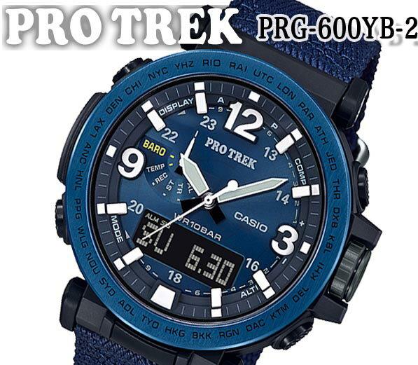 腕時計, メンズ腕時計  CASIO PRO TREK NAVY BLUE PRG-600YB-2