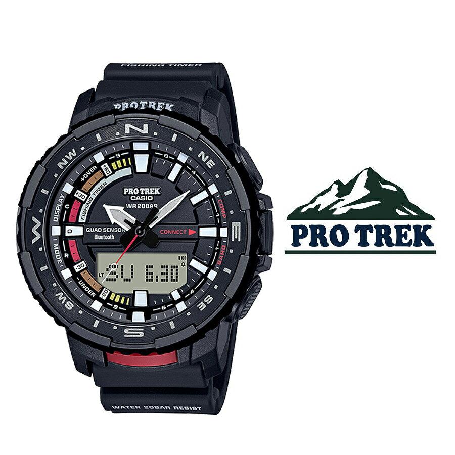 腕時計, メンズ腕時計  CASIO PRO TREK prt-b70-1 Bluetooth
