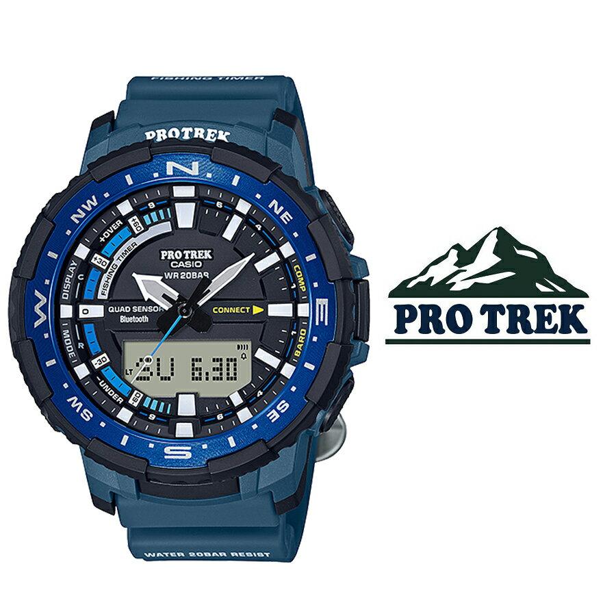 腕時計, メンズ腕時計  CASIO PRO TREK Angler Line prt-b70-2 Bluetooth