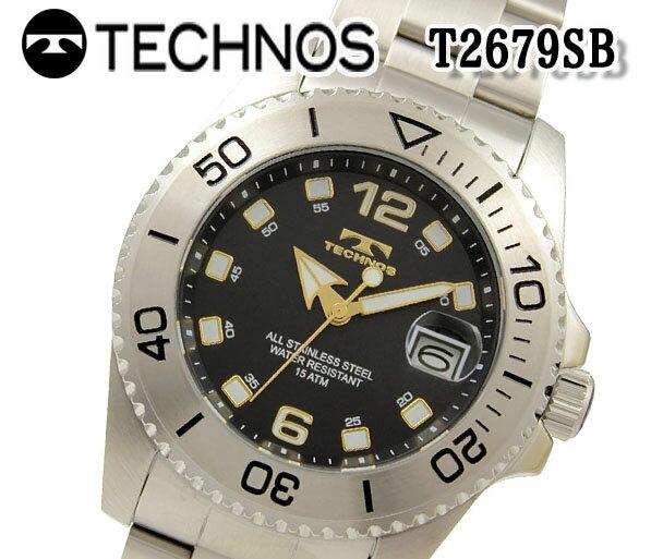 腕時計, メンズ腕時計  TECHNOS T2679SB