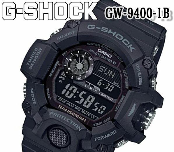 腕時計, メンズ腕時計  G-SHOCK G GW-9400-1b RANGEMAN