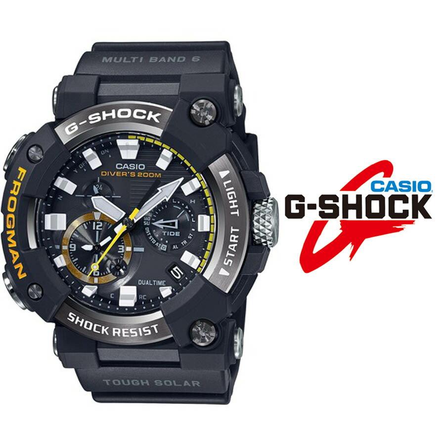 腕時計, メンズ腕時計 43.5!G-SHOCK G G FROGMAN CASIO mens watch GWF-A1000-1A Bluetooth