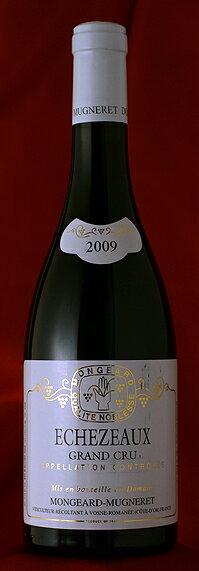 蔵出しエシェゾー[2009]Echezeaux750mlモンジャール・ミュニュレMongeardMugneret