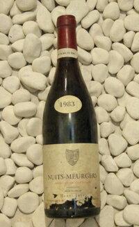 Henri Jayer アンリ・ジャイエ Nuit Saint Georges Murgers 1er[1983]750mlニュイサンジョルジュ・ミュルジュ1er [1983]750ml