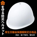 防災ヘルメット 【ヘルメット (No.110)】 作業用ヘルメット 飛...