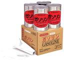 【防災グッズ】地震等の備蓄燃料クルマのガソリン切れの防止にレギュラーガソリンの缶詰4缶セッ...