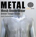 鎖帷子 ステンレス メッシュシャツ SMLサイズ 護身 用品 グッズ 用具 自己 防衛