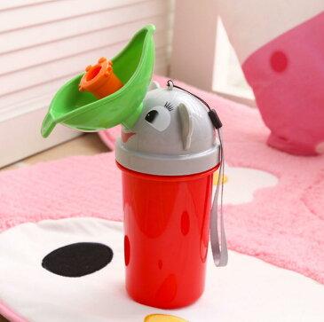 かわいい子供用 携帯トイレ 緊急用 ベビーキッズおしっこ ボトル トイレトレーニング女の子用