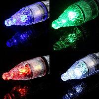 集魚ライト3個セットLED集魚灯水中ライトアジングエギング単3電池48時間点灯夜釣りイカ釣り太刀魚アジアオリイカコウイカヤリイカスルメイカケンサキイカいわし深海高輝度LED虹色点滅LED水中集魚灯水深300m