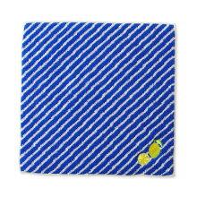 空想タオルハンカチ青空とレモン