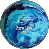 (ABS) ボウリングボール シュアラインハード ブルー 【スペアボール】