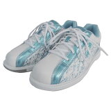 ABS ボウリング シューズ S-250 ホワイト・アクアブルー ボウリング用品 ボーリング グッズ 靴