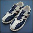 (デクスター) ボウリングシューズ Ds38 ネイビー・ホワイト 【ボウリング用品 靴 ボーリング】