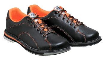 (ハイ・スポーツ)ボウリングシューズHS-390ブラック・オレンジ【ボウリング用品】
