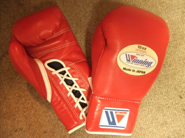 WINNING Boxing Gloves (10 oz) for official fights
