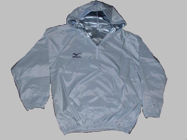 Mizuno Sauna Suit with Hood(WHITE) for Boxers America-Ya Orijinal