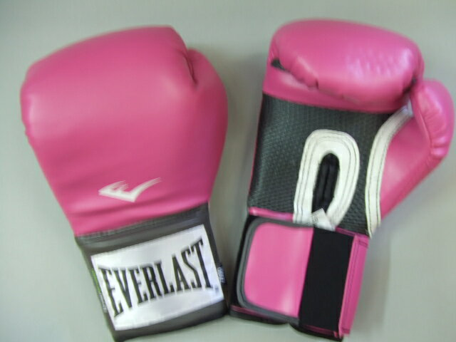 エバーラストレディース 8 oz. training glove pink