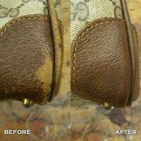 靴やカバンの色落ち補修は革用染料レザーインク