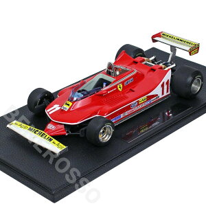 TOPMARQUES1/18スケールフェラーリ312T4シェクター#11GRP002F